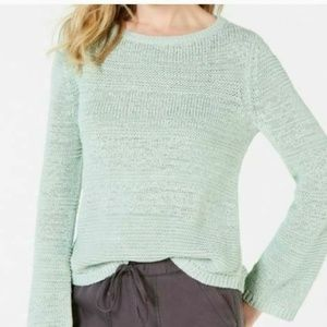 Style & Co XL Mint Ice Pullover Sweater 4AA87
